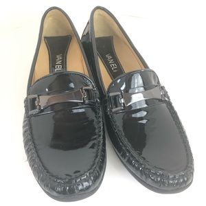 Vaneli Patent Leather Driving Loafers